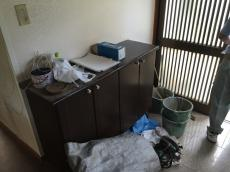 八千代市 K様邸 リフォーム増改築改修工事 玄関 施工中