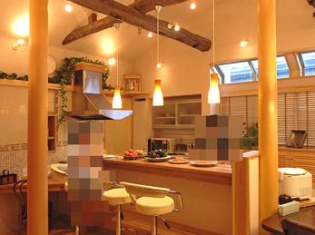 モデルハウスのような明るい素敵なキッチンになりました