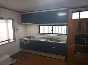 B様邸内装・キッチン改修工事