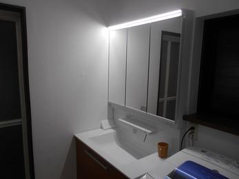 T様邸洗面台・トイレ改装工事