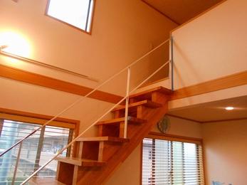 M様邸 ロフト・階段増築工事 バルコニー工事